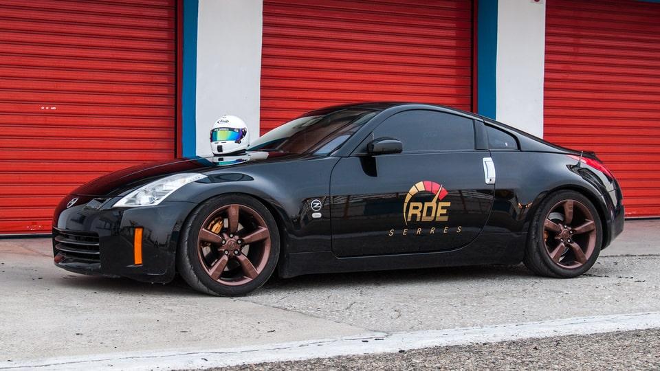 RDE Nissan 350Z pit